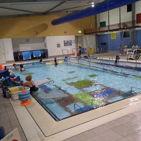 Sinnamon Village hydrotherapy pool